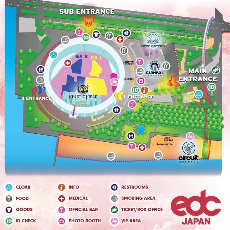 EDC MAP