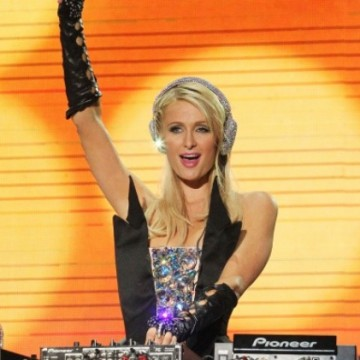 Paris Hilton performed her DJ debut at the Pop Music Festival in Sao Paulo, Brazil in front of thousands of ecstatic fans.