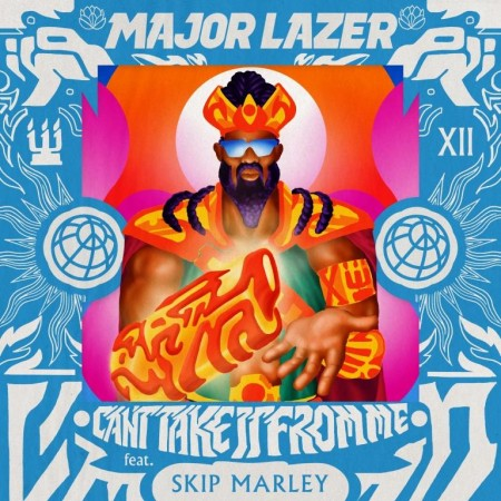 Major Lazer - Cant Take It From Me - ARTWORK FINAL_web