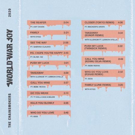 『ワールド・ウォー・ジョイ』国内盤CD_ジャケット写真